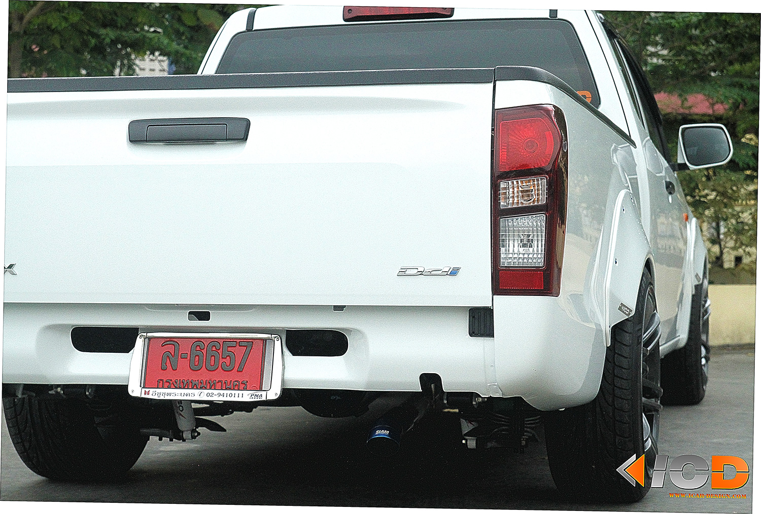 ISUZU All New D-Max Fender Flare Racing Style-14