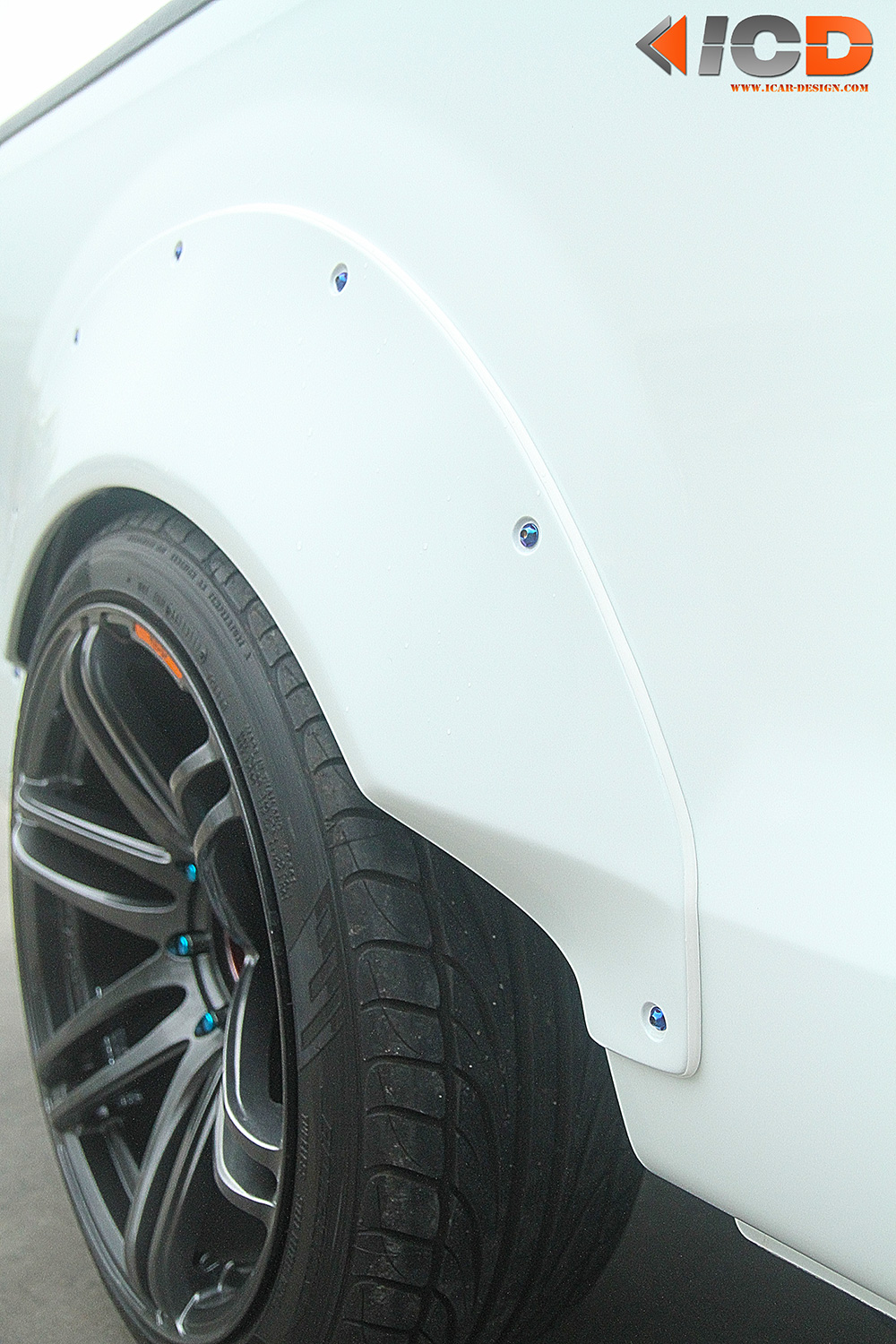 ISUZU All New D-Max Fender Flare Racing Style-15