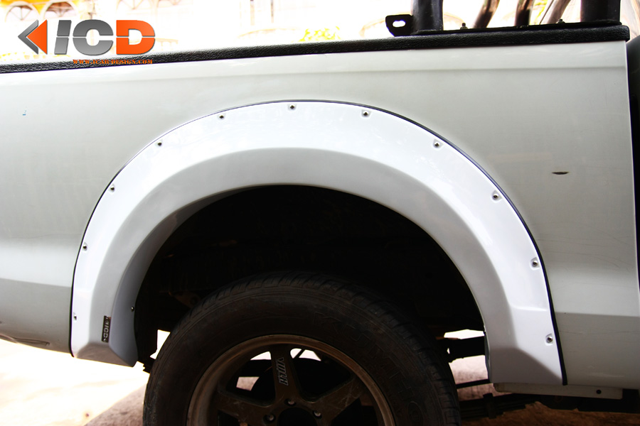 D-MAX 2012 Fender Flare-14