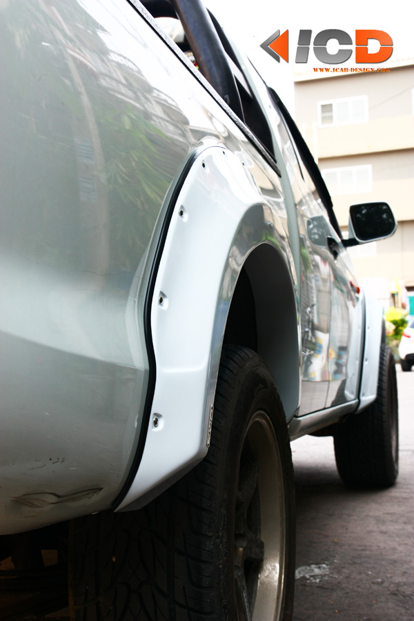 D-MAX 2012 Fender Flare-5