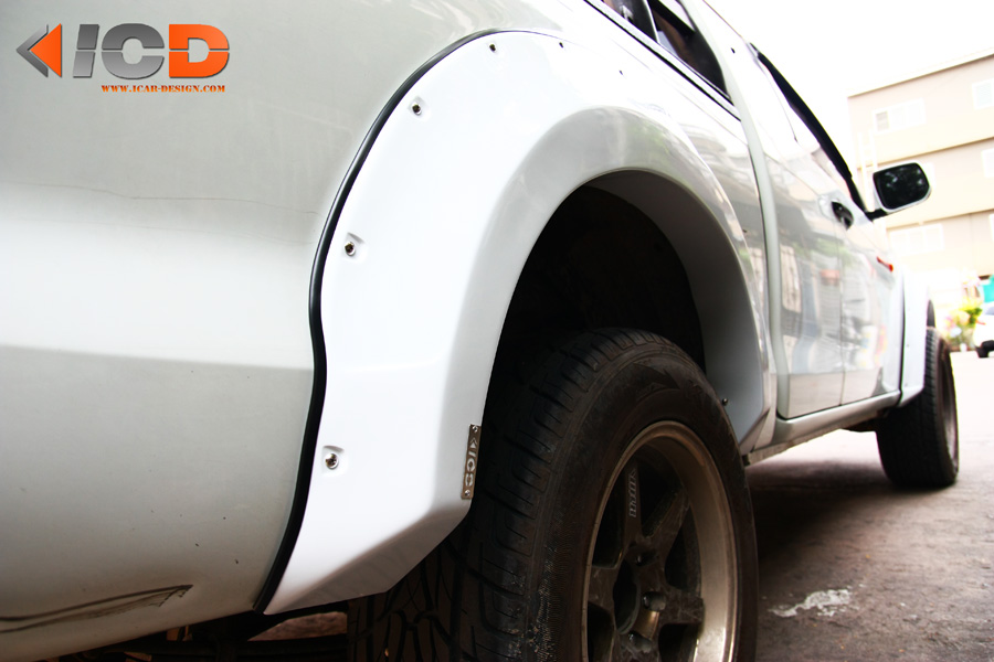 D-MAX 2012 Fender Flare-8