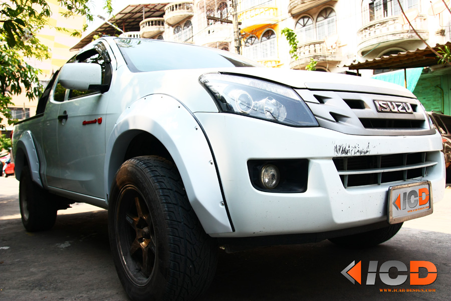 D-MAX 2012 Fender Flare
