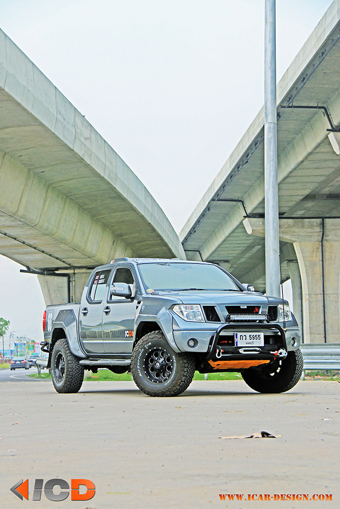 NISSAN NAVARA D40 Wide Body Kit-2